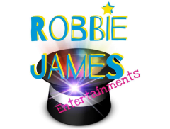 Robbie James Entertainer Logo