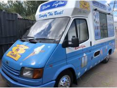 Gary Allen's ice creams Logo