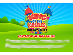 King of the Castles Bouncy Hire Logo