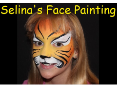 Selina's Face Painting Logo