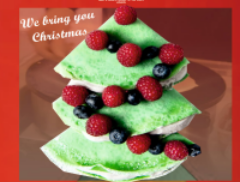 CREPE PANCAKE CATERING LONDON | CHRISTMAS COMES to YOU|PANCAKEEVENTS.COM Logo
