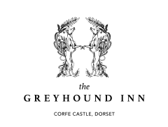 The Greyhound Inn, Corfe Castle  Logo
