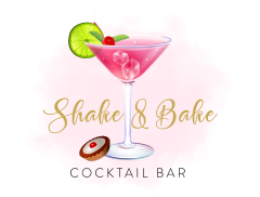 Shake and Bake Cocktail Bar Logo