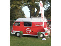 The pimms camper Logo