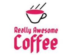 Really Awesome Coffee - Grantham Logo