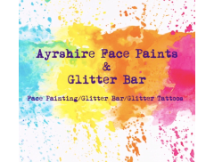 Ayrshire Face Paints & Glitter Bar Logo