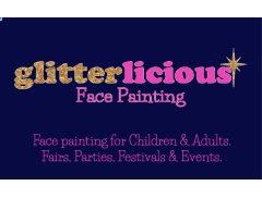 Glitterlicious Face Painting Logo