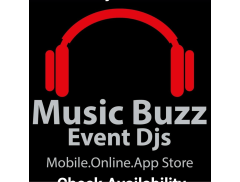 Music Buzz Event Djs Logo