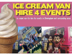 Ice Cream Van Hire 4 Events  Logo