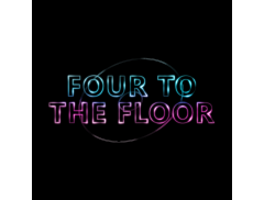 Four To The Floor DJ and Disco Logo