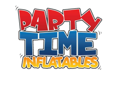 Party Time Inflatables Logo